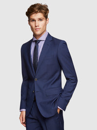 AUDEN WOOL SUIT JACKET NAVY