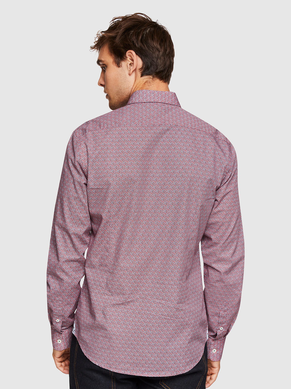 KENTON PRINTED SHIRT RED