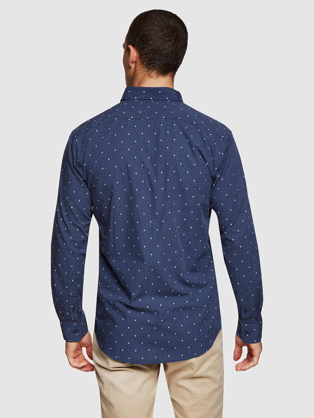 STRATTON BRUSHED COTTON SHIRT