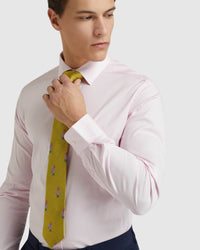 PINK STRETCH TRAVEL SHIRT PINK