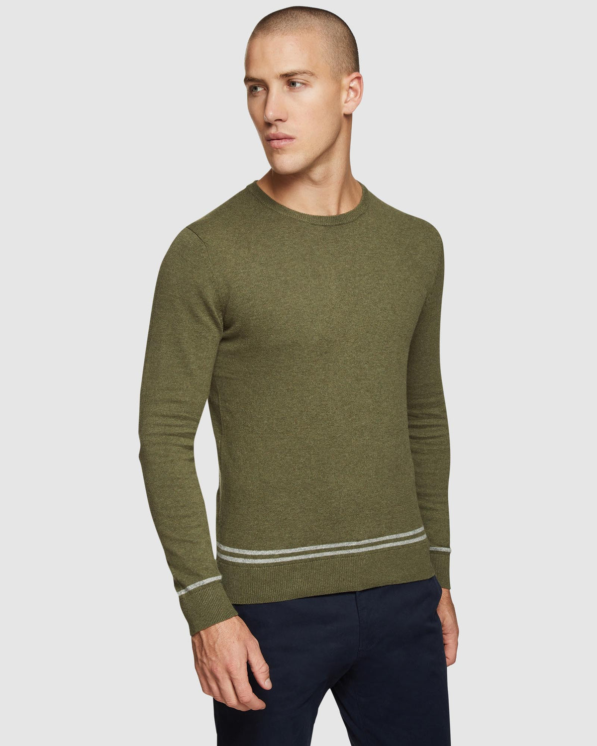 AXEL COTTON CREW NECK PULLOVER