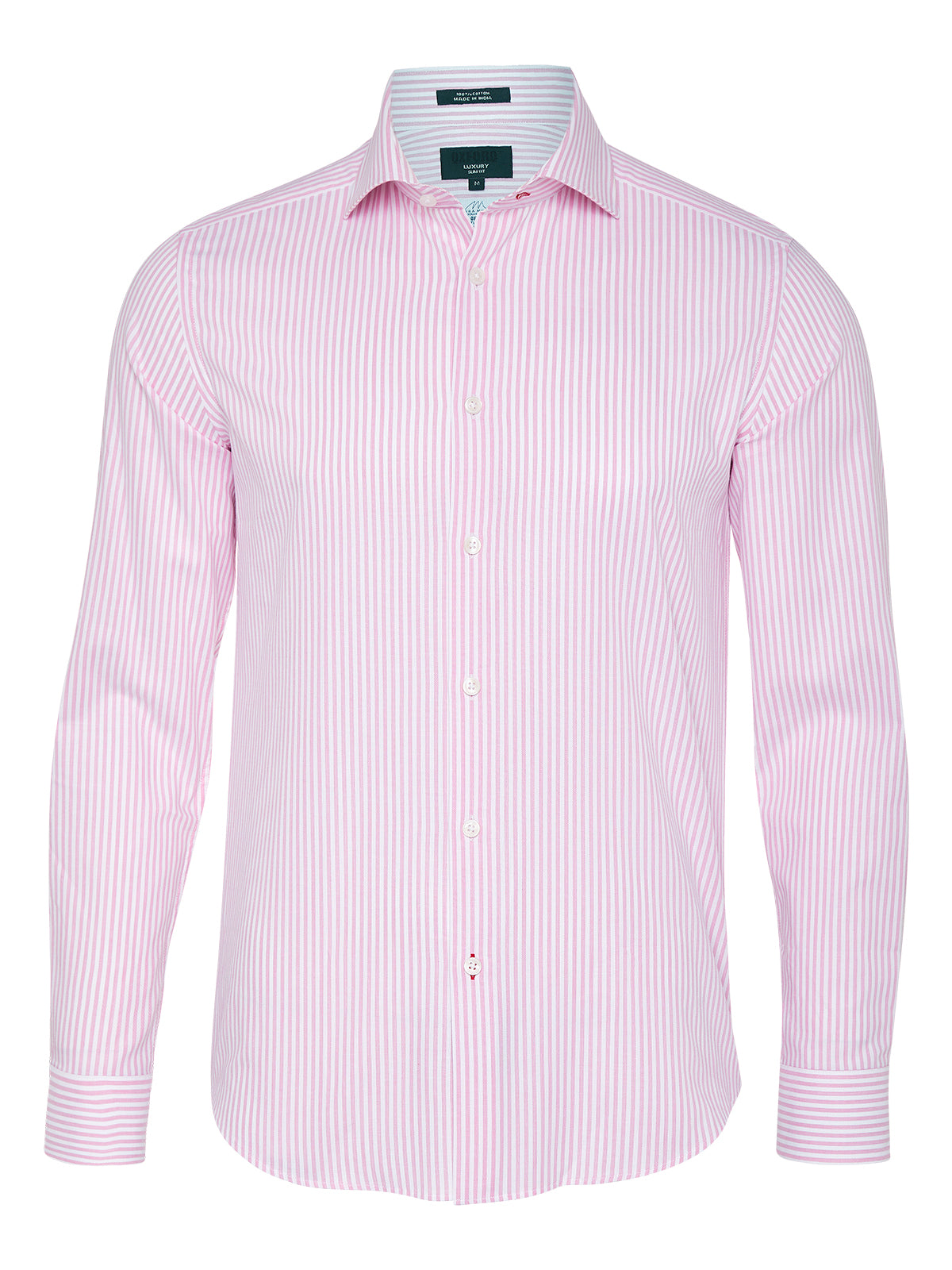 TRAFALGAR STRIPED LUXURY SHIRT PINK
