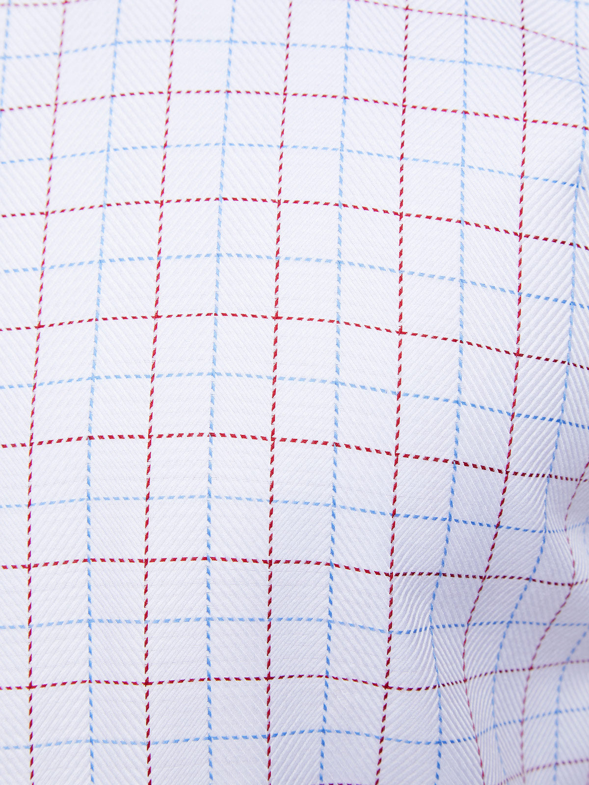 ISLINGTON CHECKED LUXURY SHIRT WHITE/RED/SKY