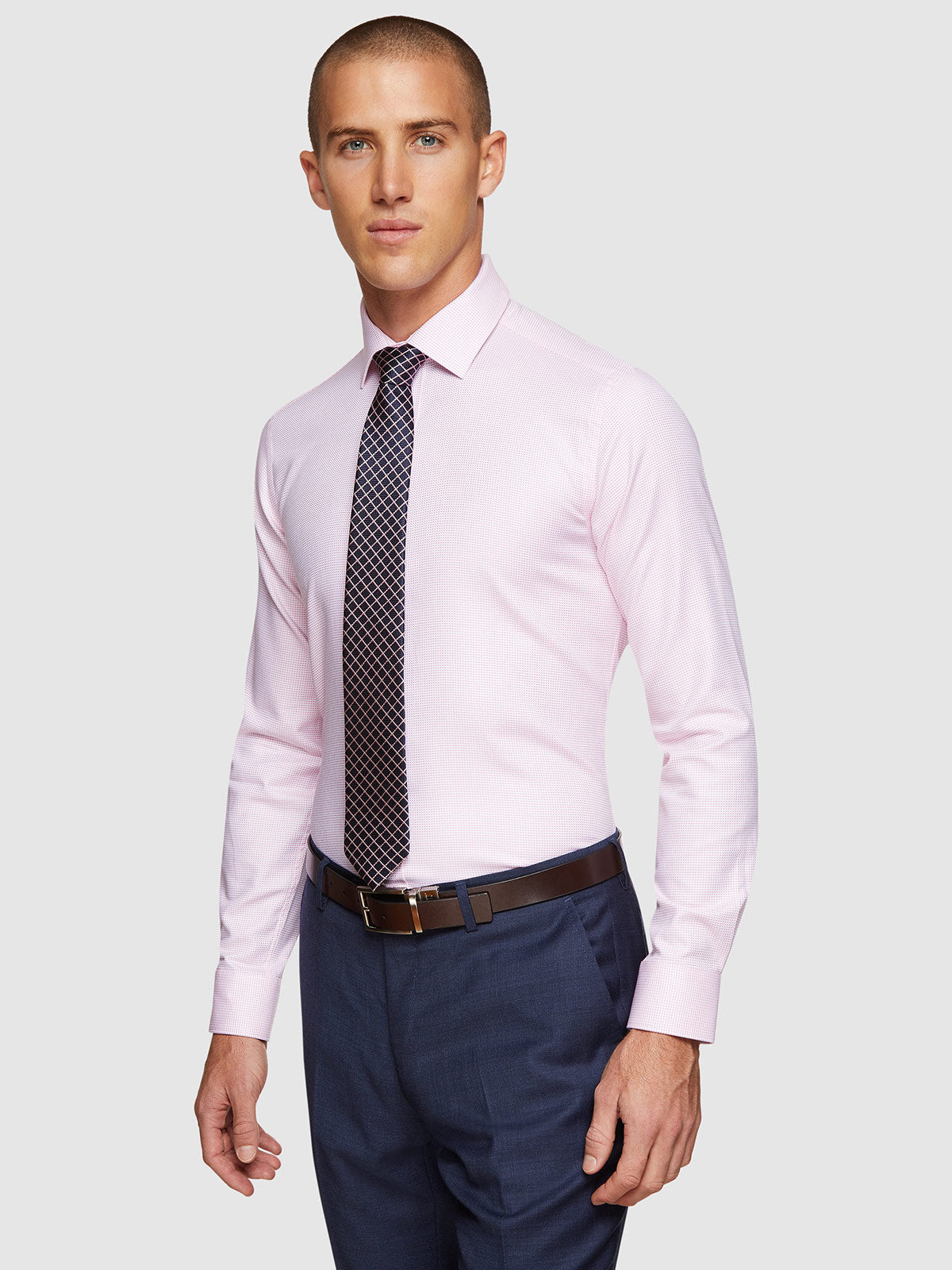 BECKTON DOBBY LUXURY SHIRT