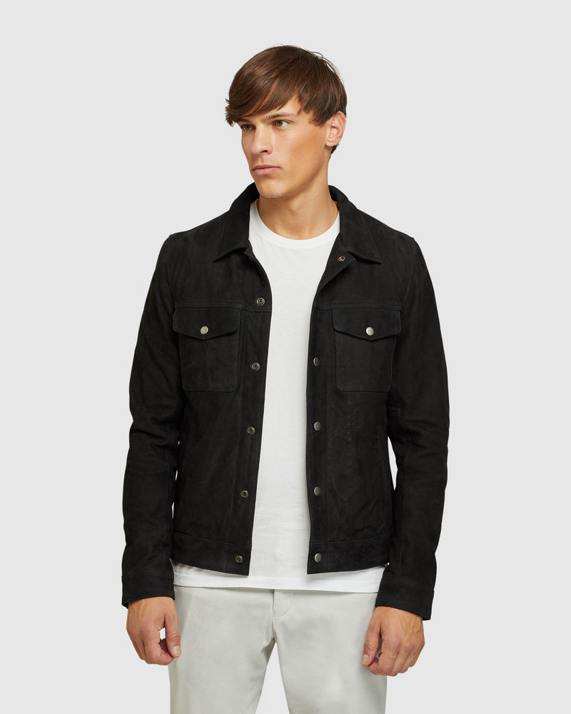 OLIVER SUEDE LEATHER JACKET