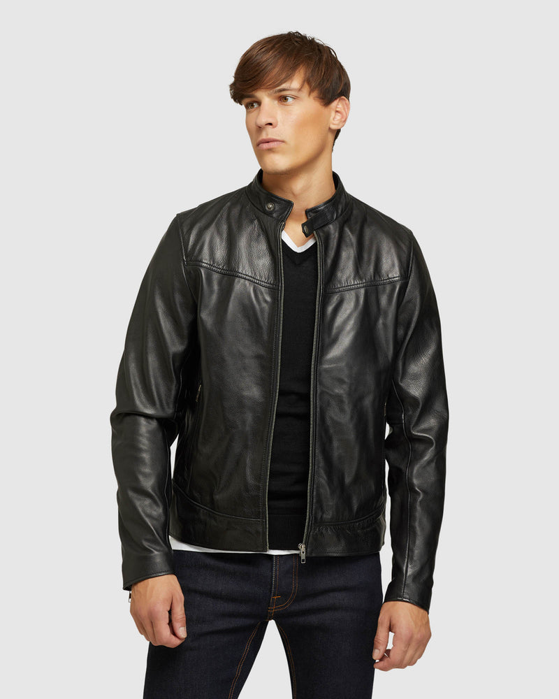 JACKSON LEATHER JACKET