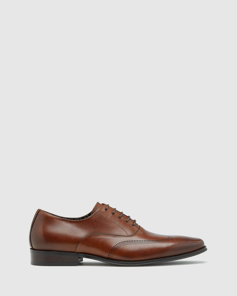 ARTHUR LEATHER BROGUE SHOE