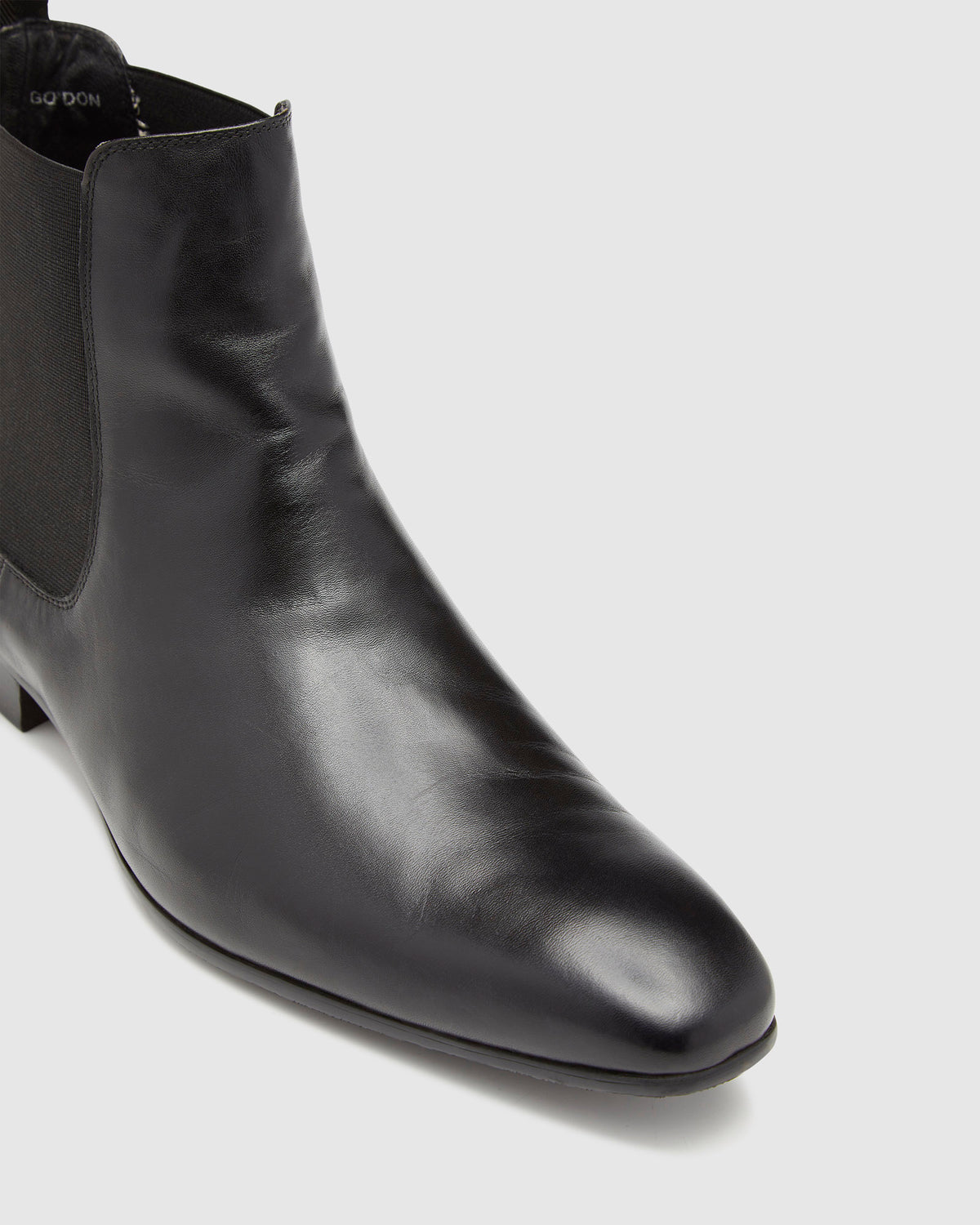 GORDON LEATHER CHELSEA BOOTS