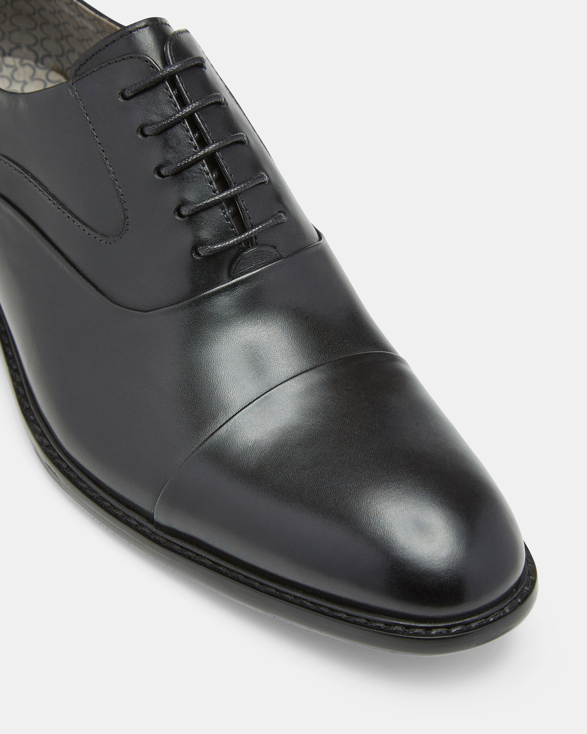FRANK LEATHER OXFORD SHOES BLACK