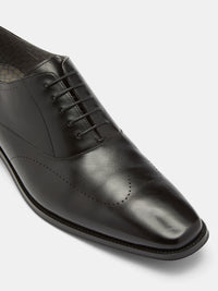 BERNIE LEATHER OXFORD SHOES
