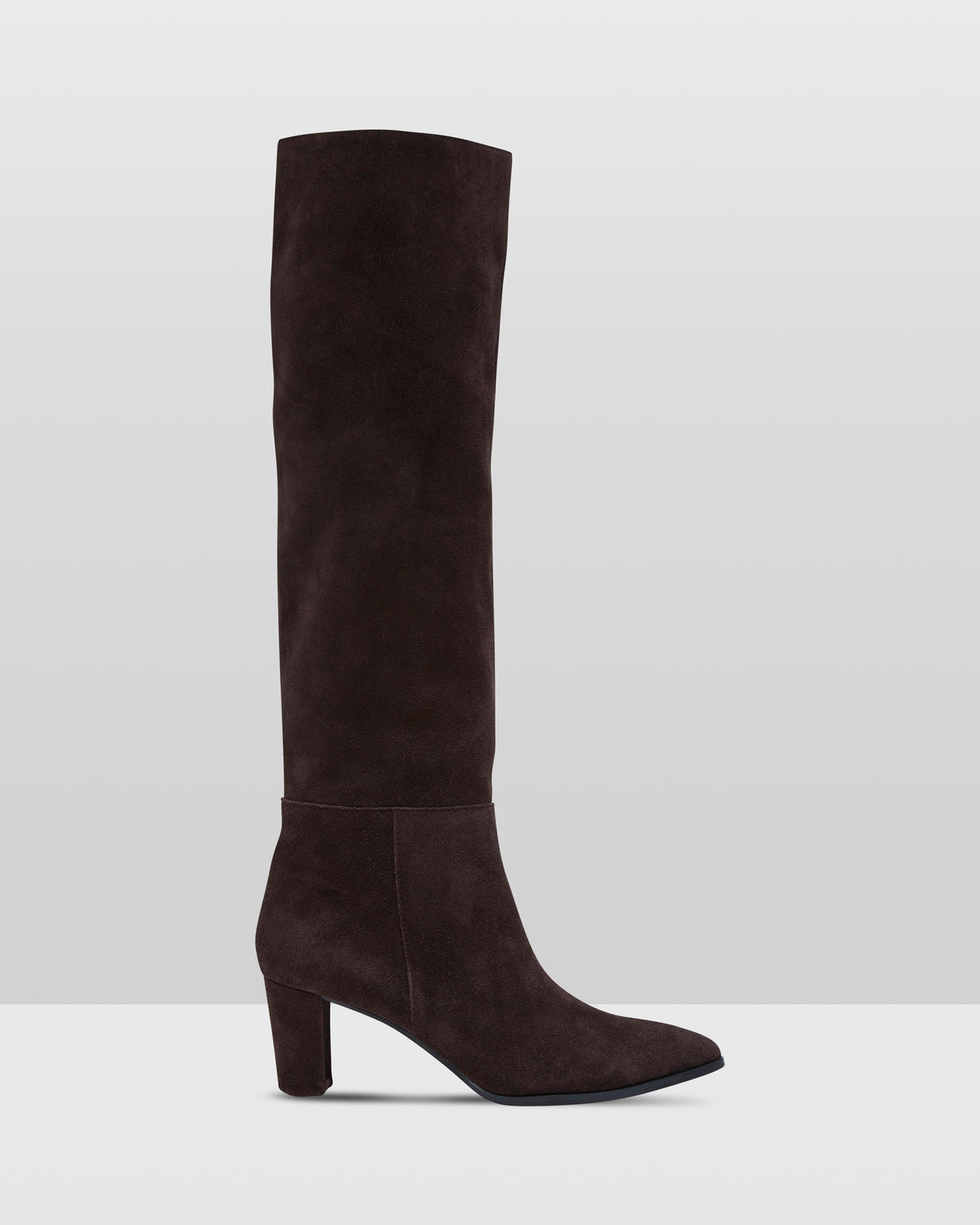 EASON SLOUCH BOOT CHOCOLATE