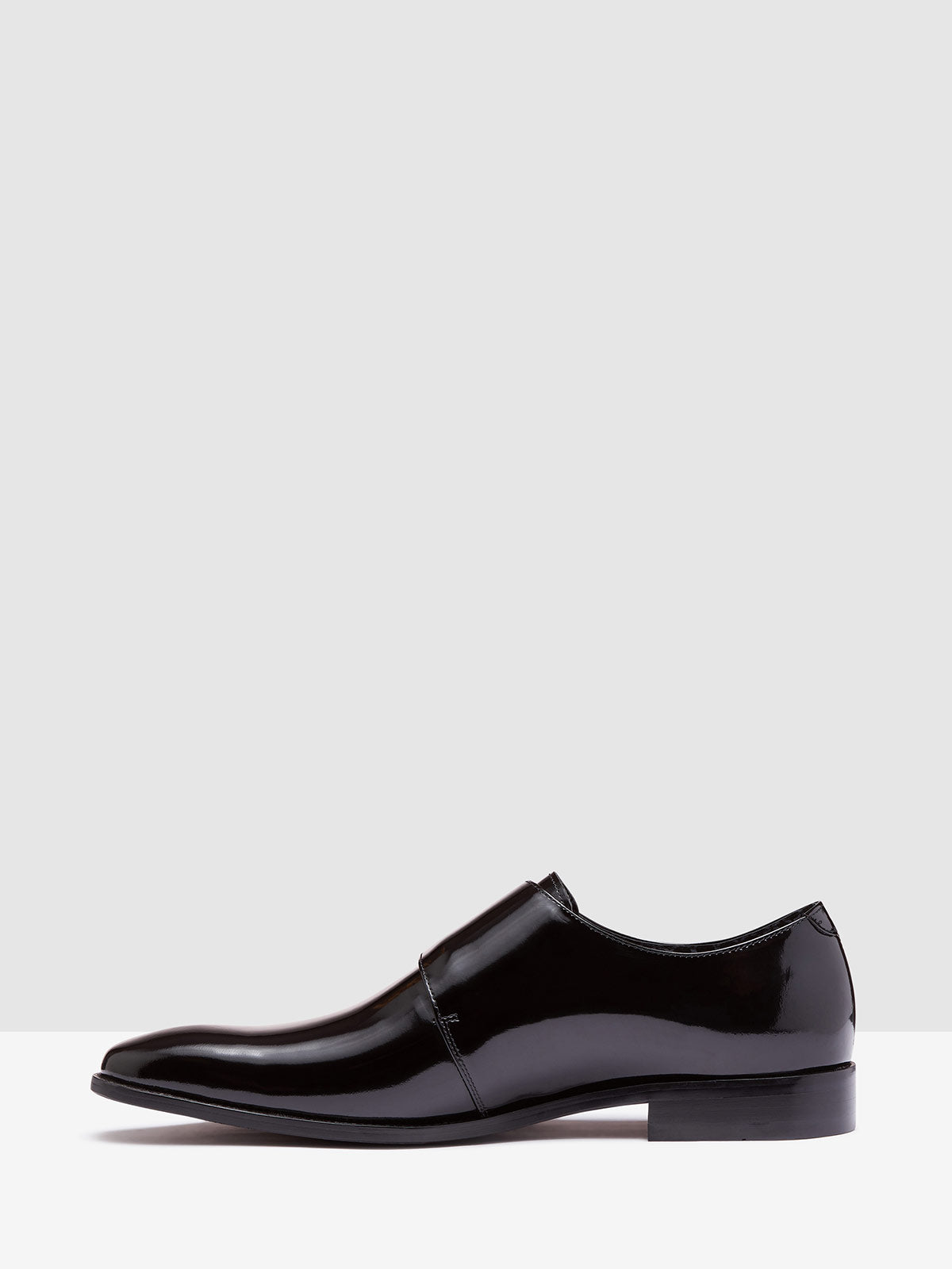 FREDRICHO HS LEATHER MONK SHOE BLACK