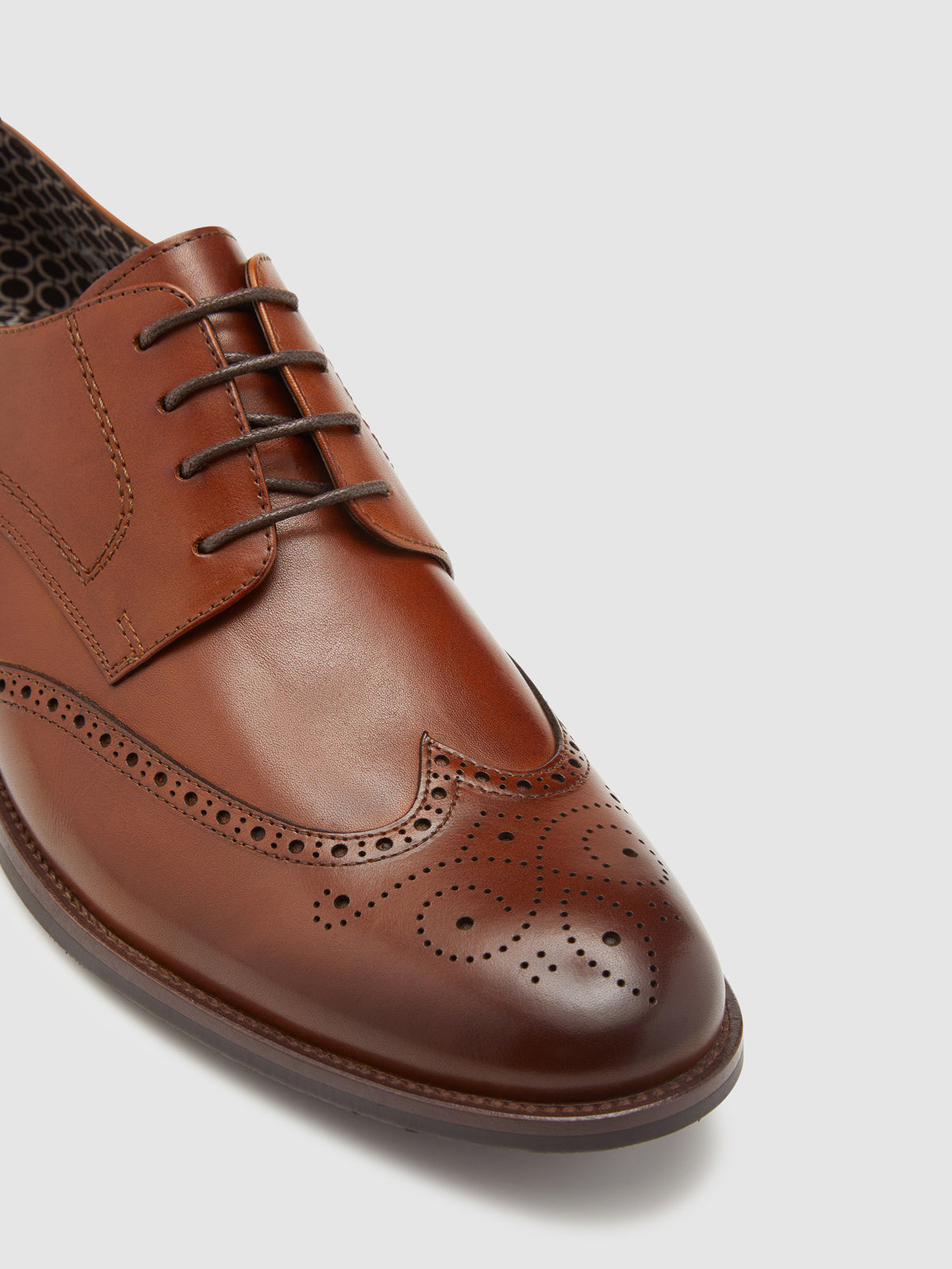 ELMER LEATHER BROGUE SHOE