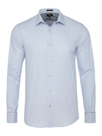 BECKTON FRENCH CUFF SHIRT BLUE