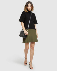 VICKY KNITTED SKIRT