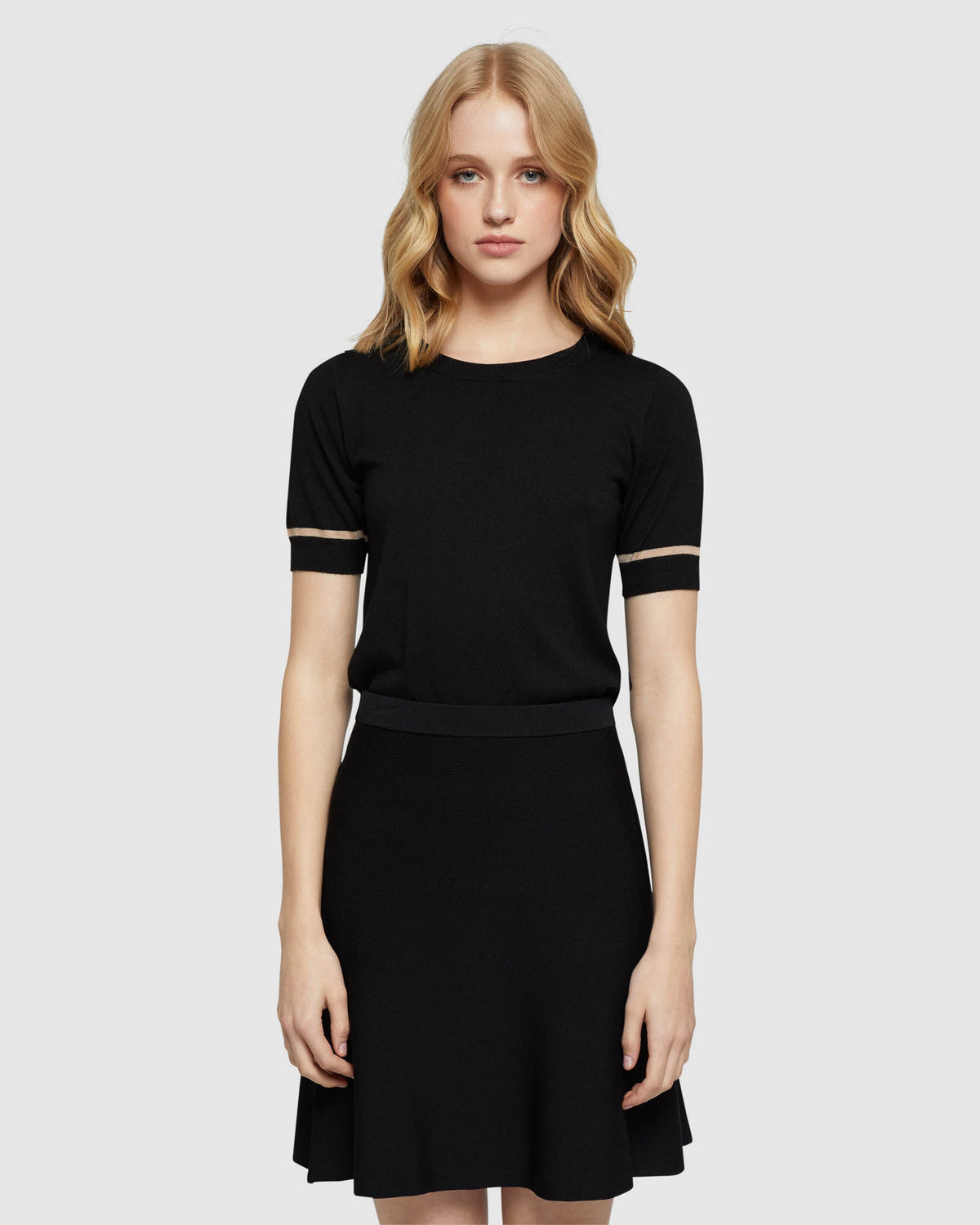 GRACE SHORT SLEEVE KNIT