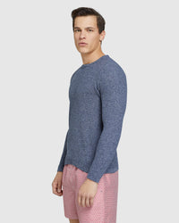 BILLIE TEXTURED CREW NECK KNIT