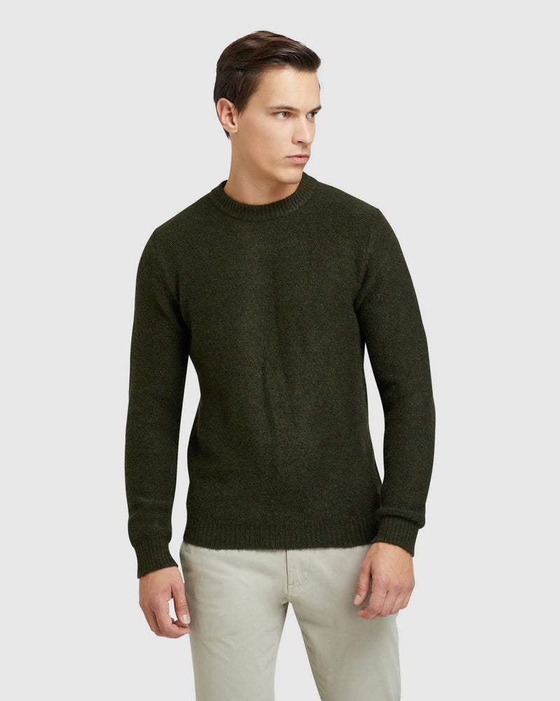 LEO SOFT CREW NECK KNIT