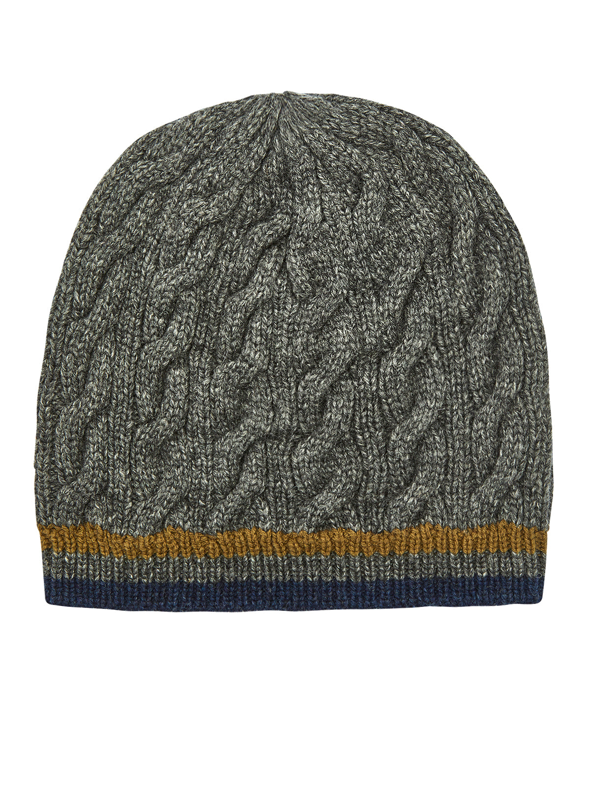 THOMAS WOOL BEANIE MELANGE GREY