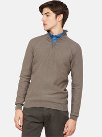 BART ZIP COLLAR KNIT