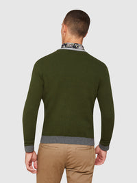 FRED COTTON CREW NECK KNIT