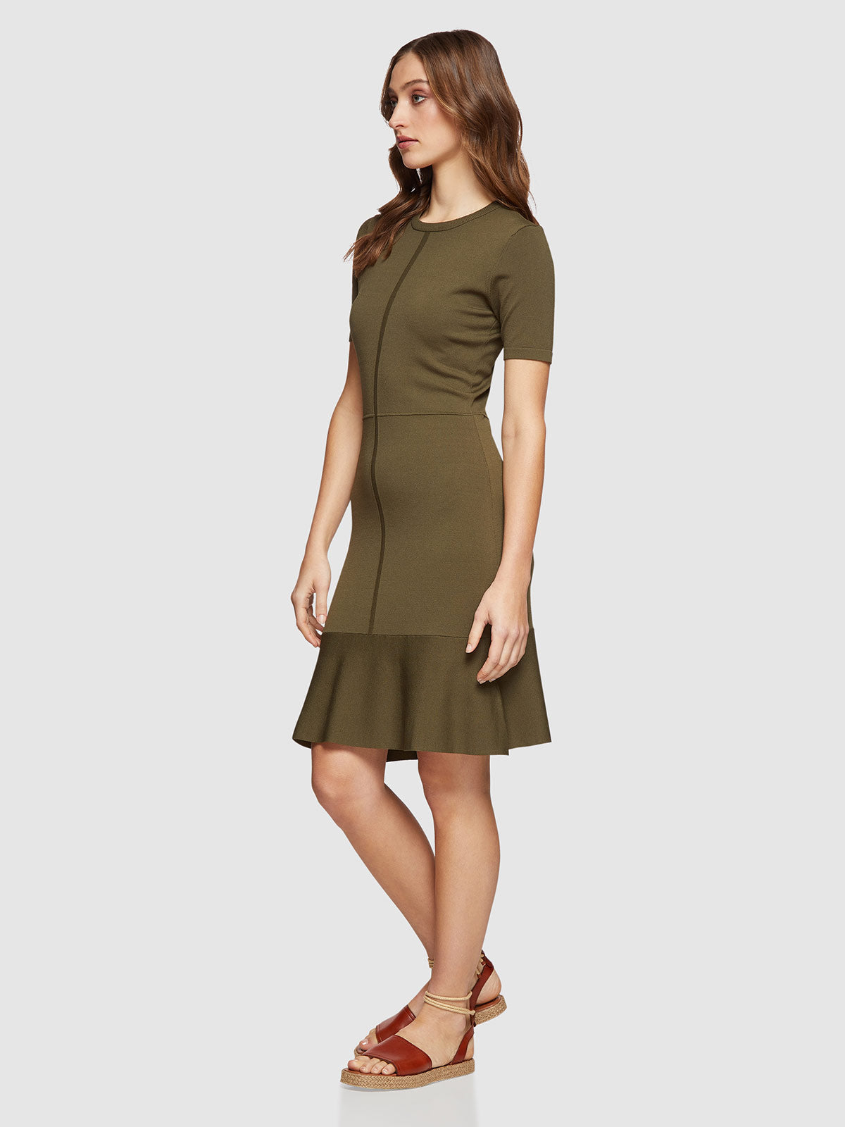 KIMMY SHORT SLEEVE KNITTED DRESS