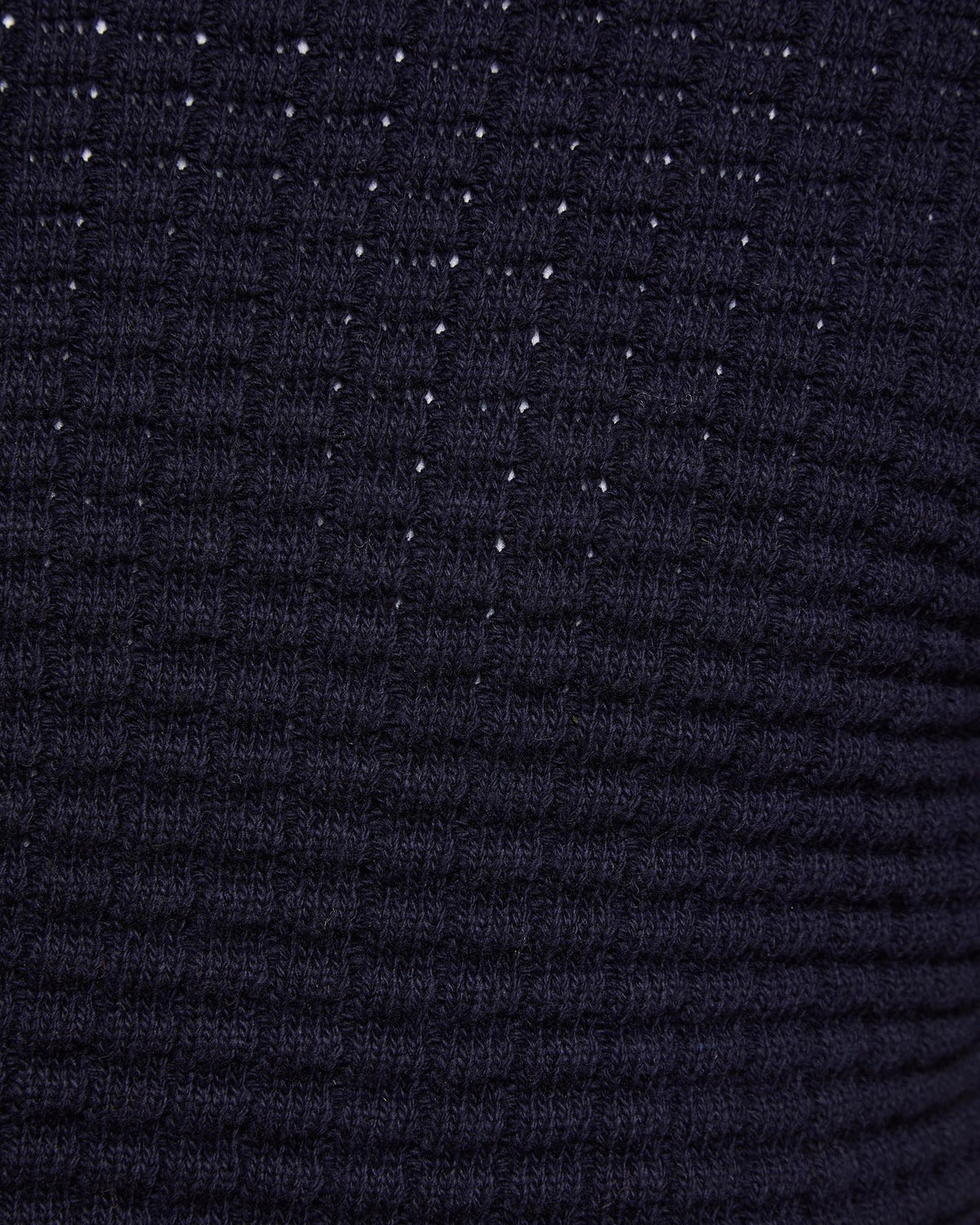 TOMMY WAFFLE CREW NECK KNIT