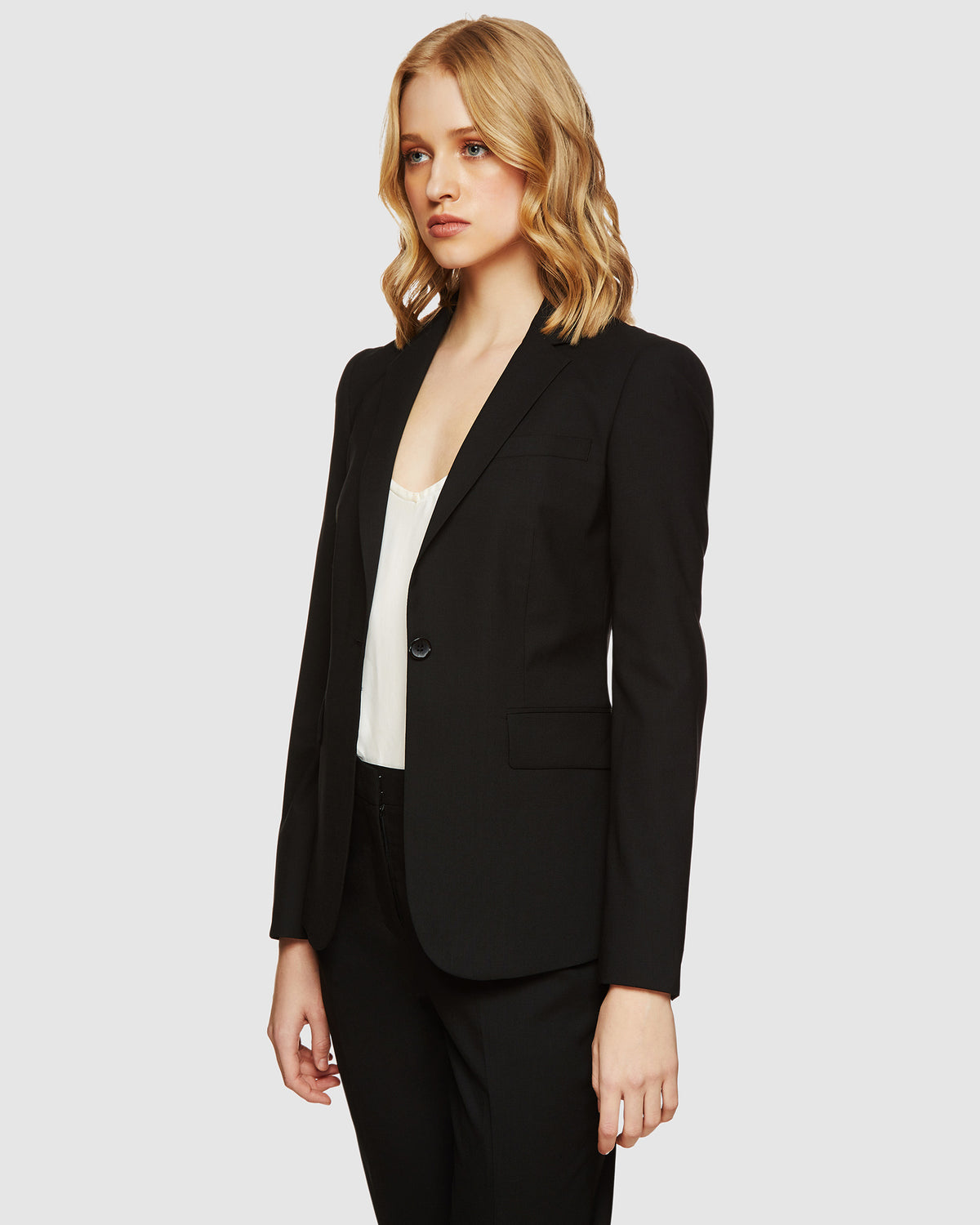 ALEXA WOOL SUIT JACKET