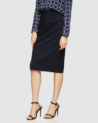 PEGGY WOOL SUIT SKIRT