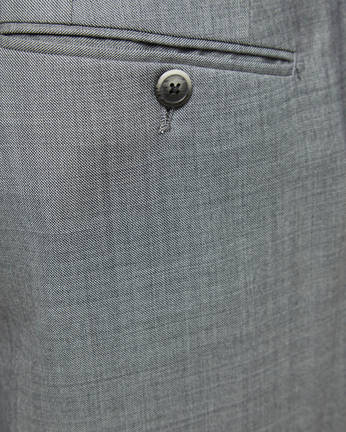 AUDEN WOOL SUIT TROUSERS GREY
