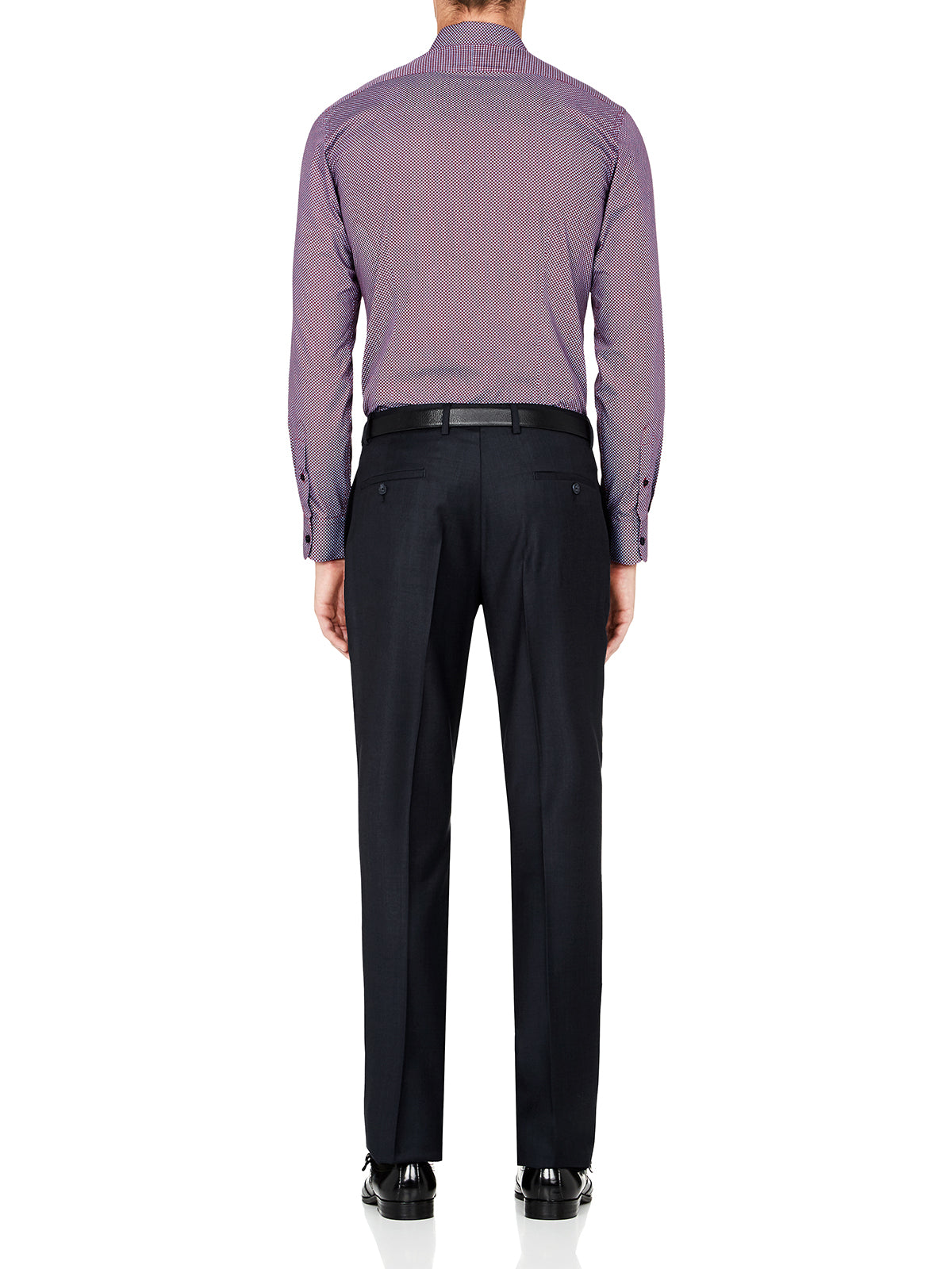 HOPKINS WOOL TROUSERS GUNMETAL