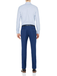TRAVEL SUIT AUDEN TROUSER MIDBLUE MID BLUE