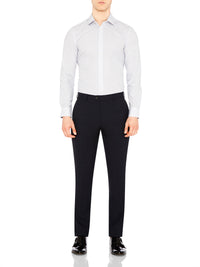 NEW HOPKINS SUIT TROUSERS DK INK
