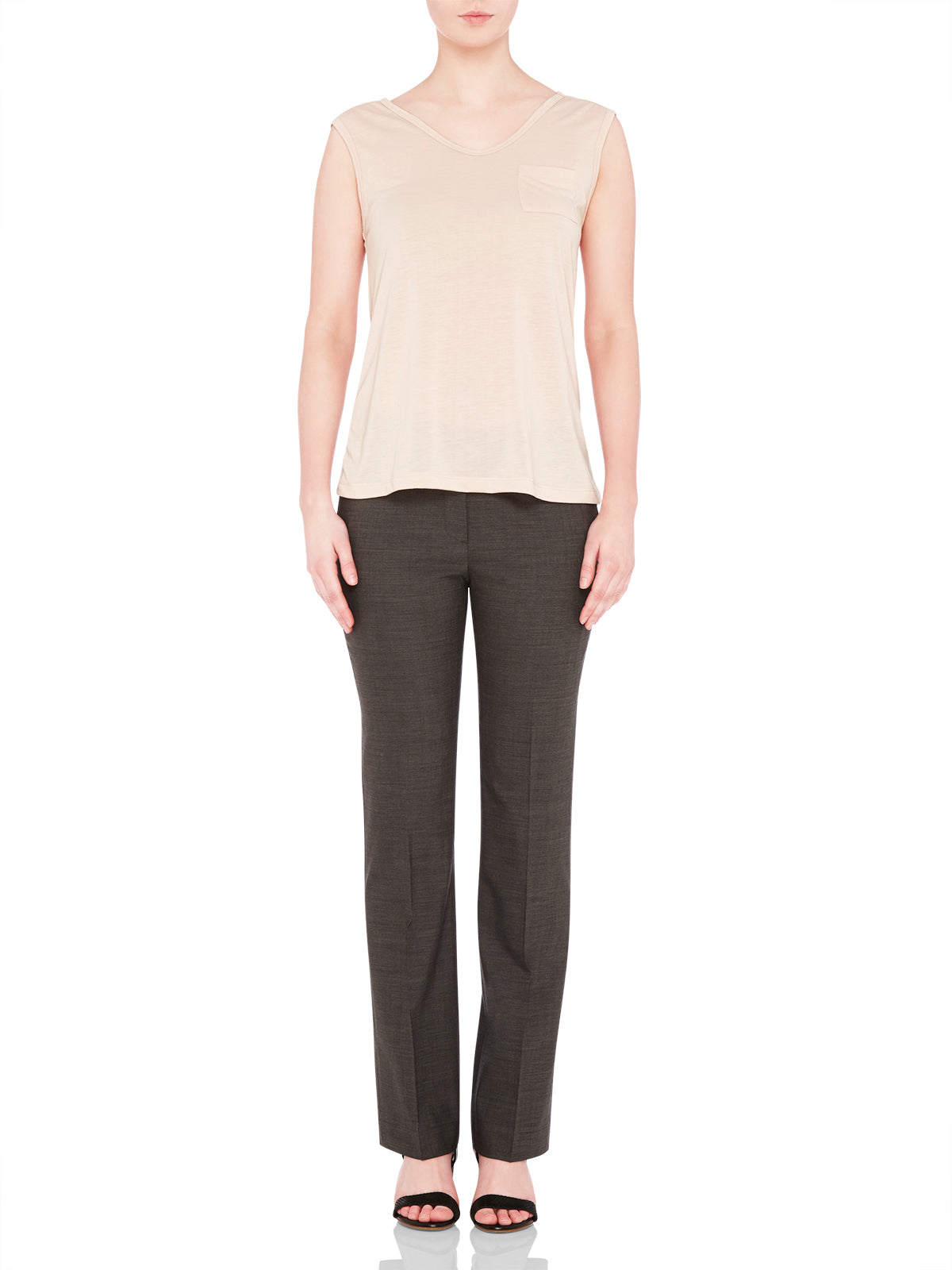 DANICA SUIT TROUSERS CHARCOAL