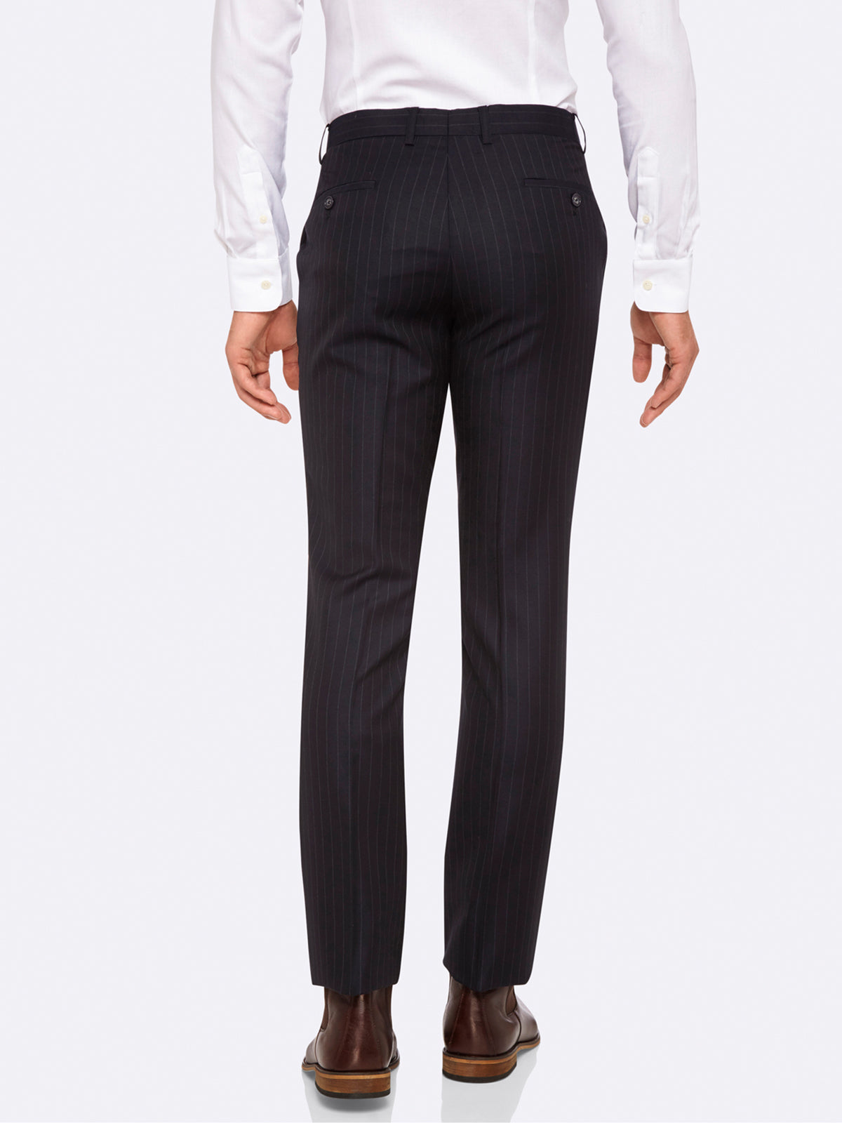 HOPKINS LUX TROUSERS DEEP NAVY