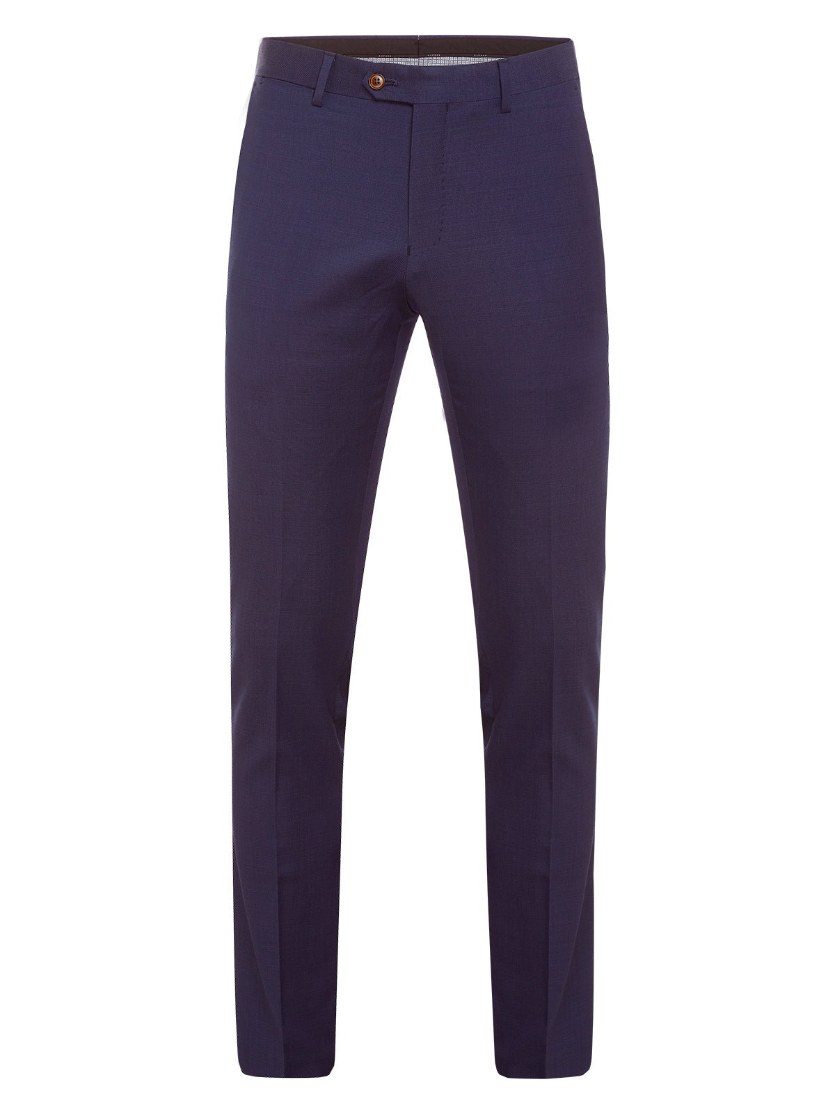 AUDEN WOOL SUIT TROUSERS CHAR