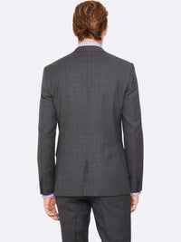 AUDEN WOOL SUIT JACKET GREY
