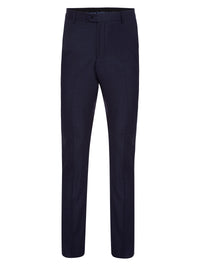 MARLOWE WOOL SUIT TROUSERS GUNMETAL