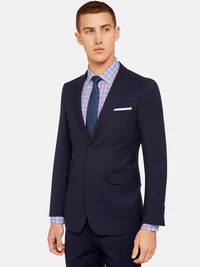 HOPKINS PEAK LAPEL WOOL SUIT JKT