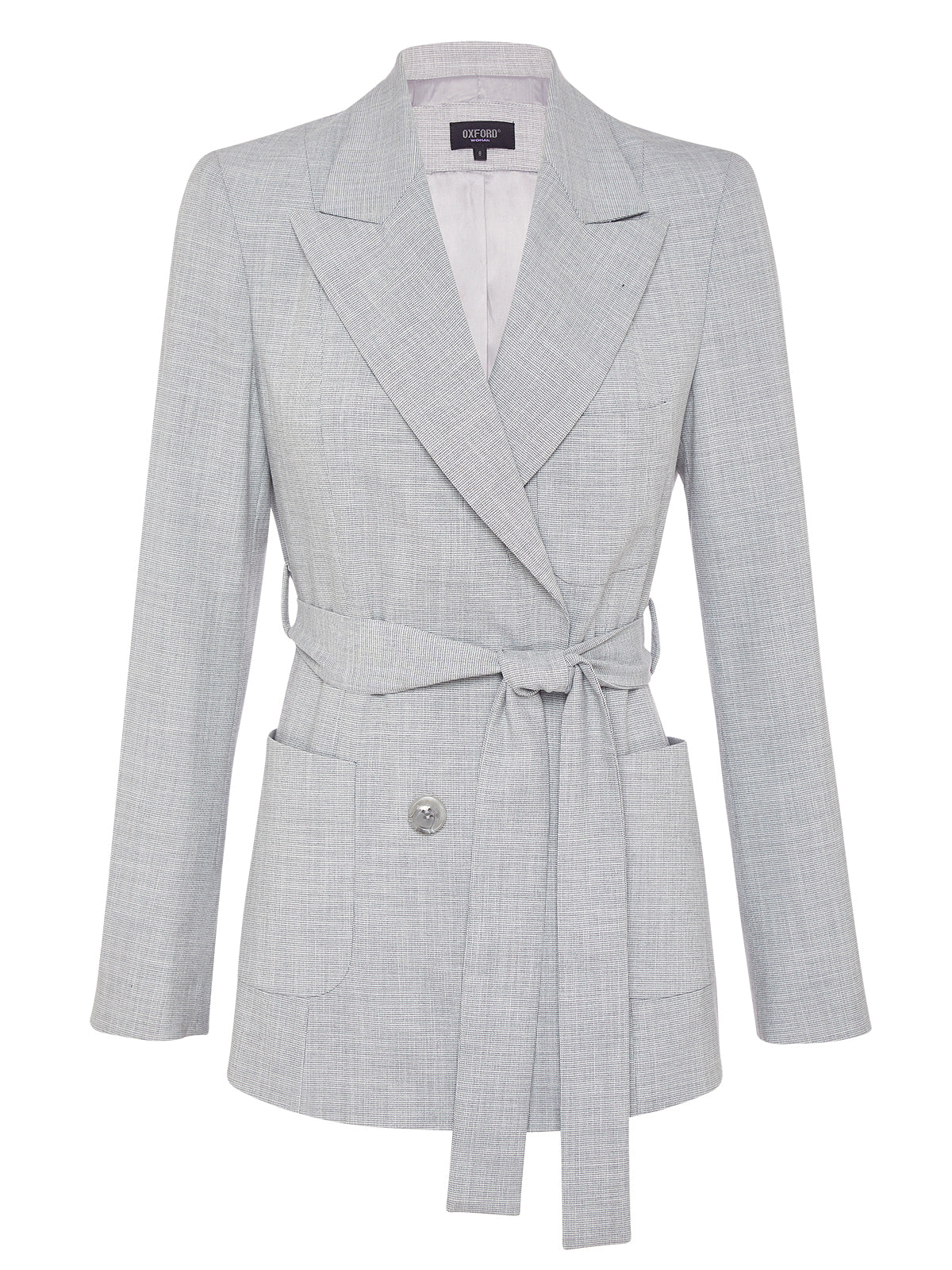 LOLA DB SUIT JACKET SILVER
