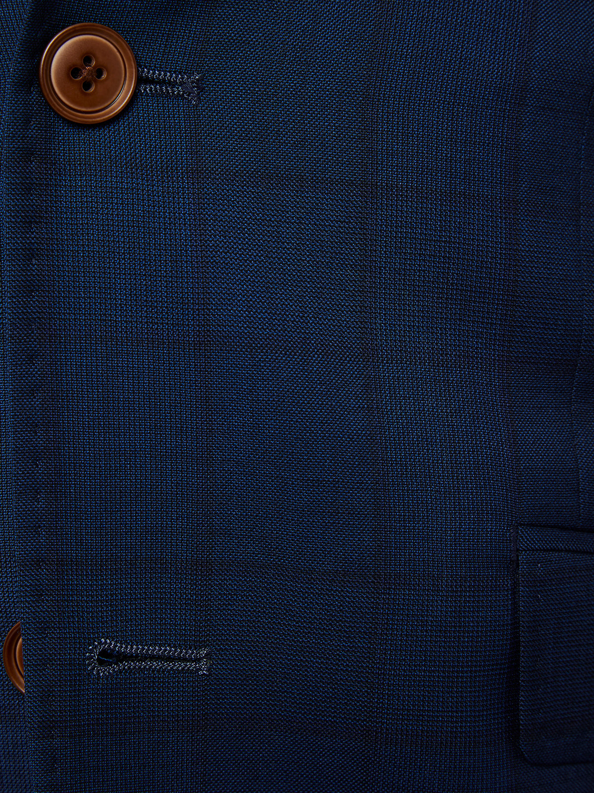 NEW HOPKINS WOOL SUIT JACKET BLUE