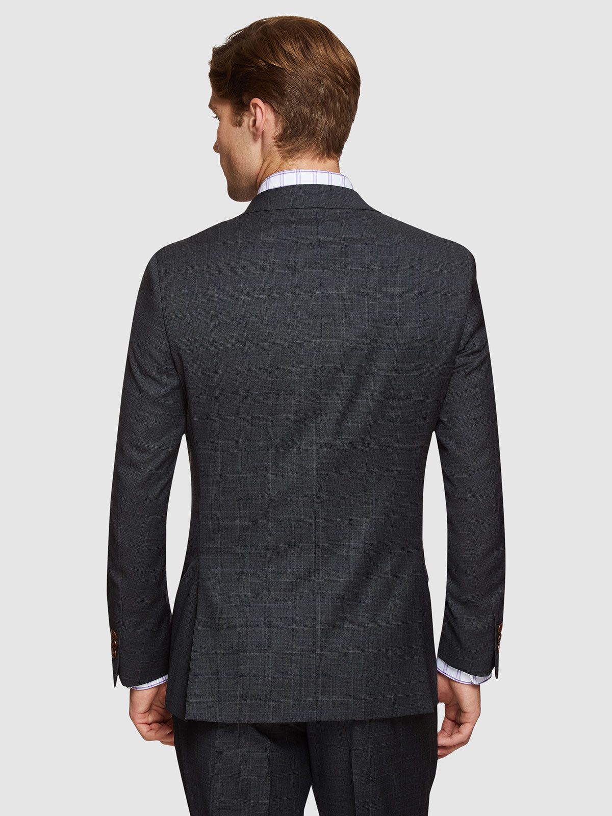 NEW HOPKINS WOOL SUIT JACKET CHARCOAL