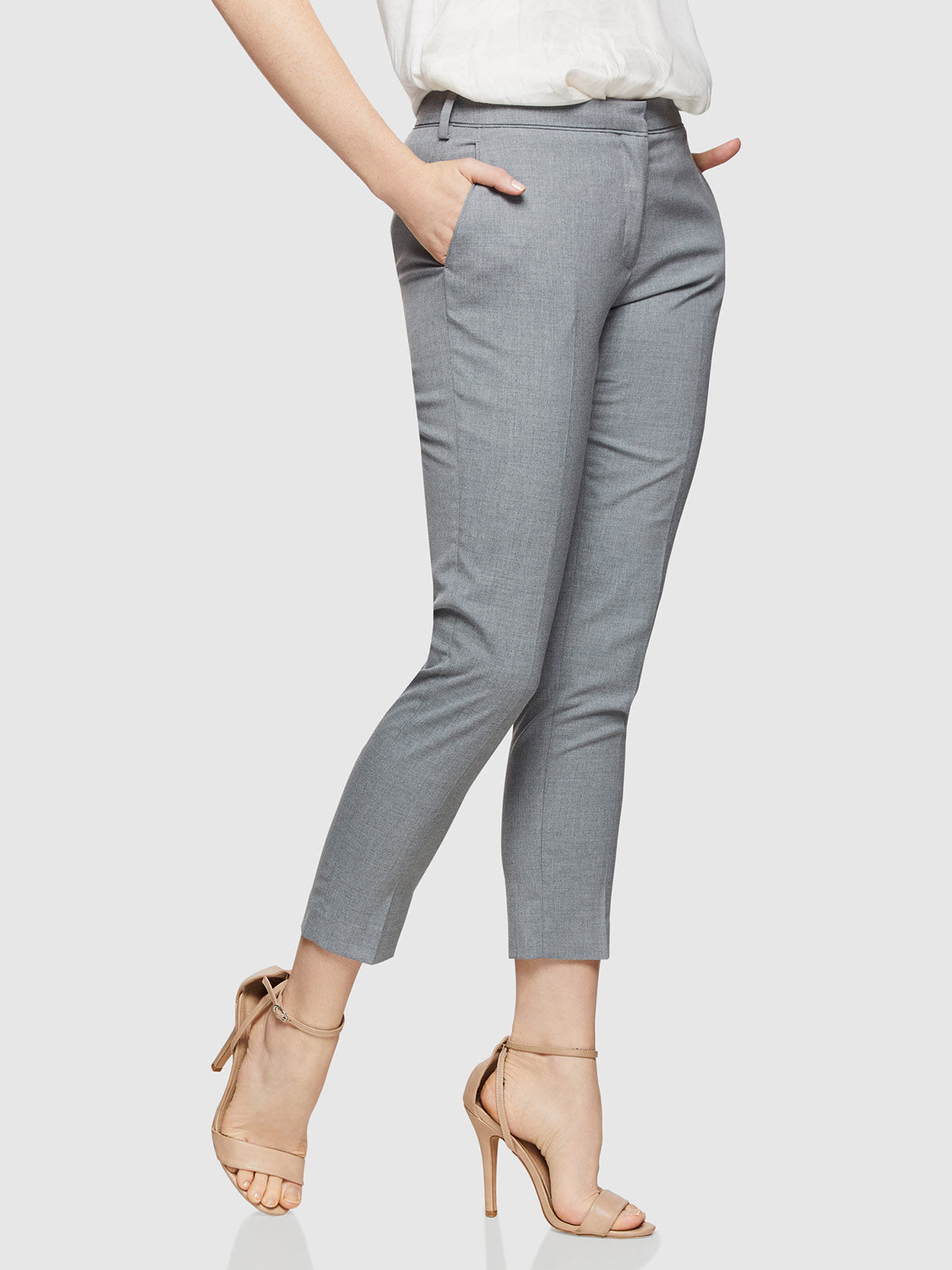 MIA SUIT TROUSERS GREY