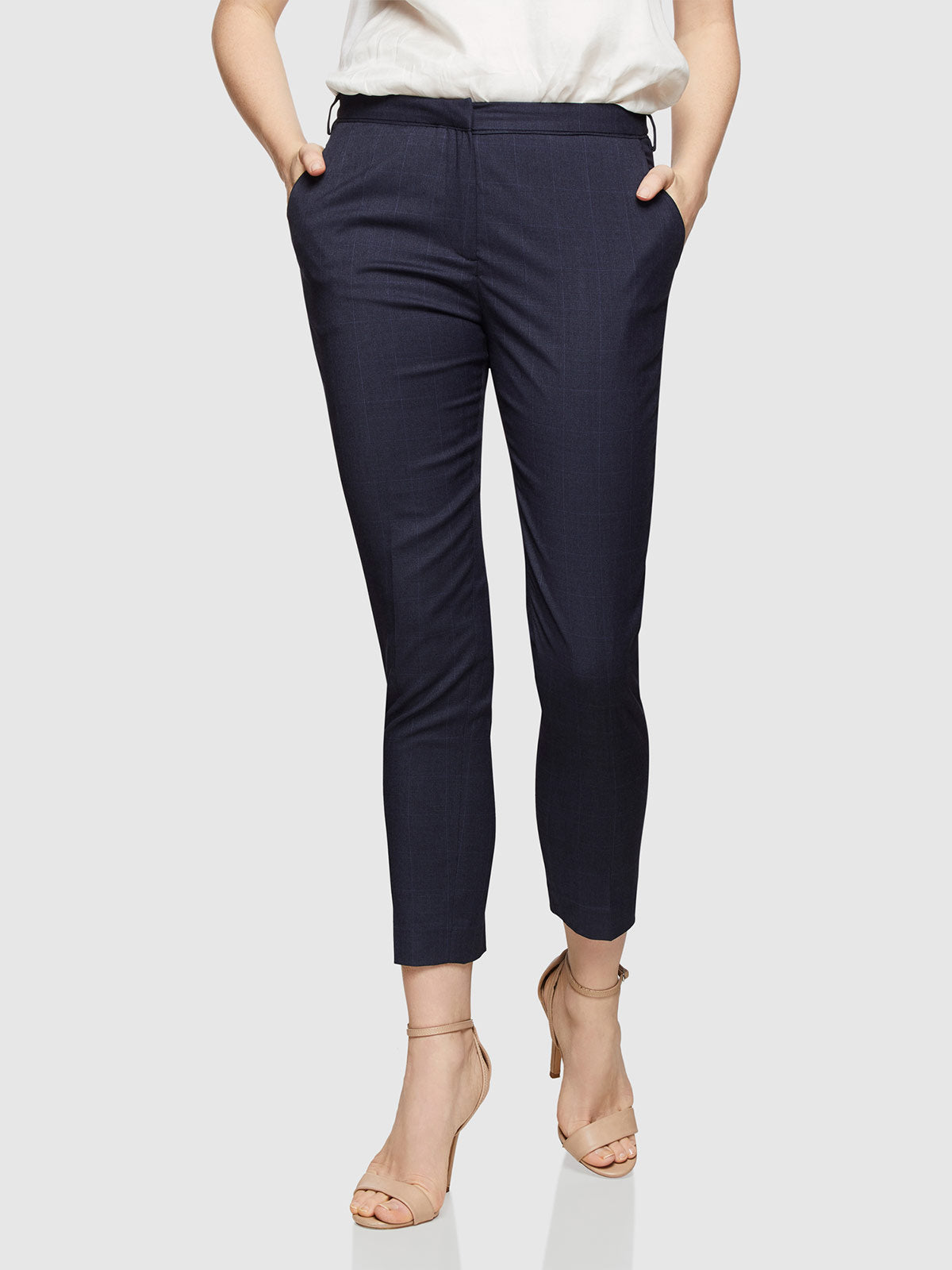 MIA SUIT TROUSERS DARK NAVY