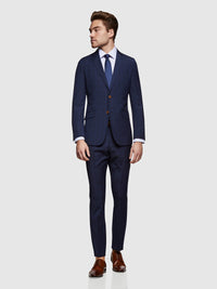 HOPKINS WOOL STRETCH SUIT JACKET