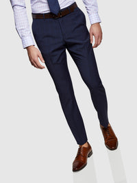 HOPKINS WOOL STRCH SUIT TROUSERS