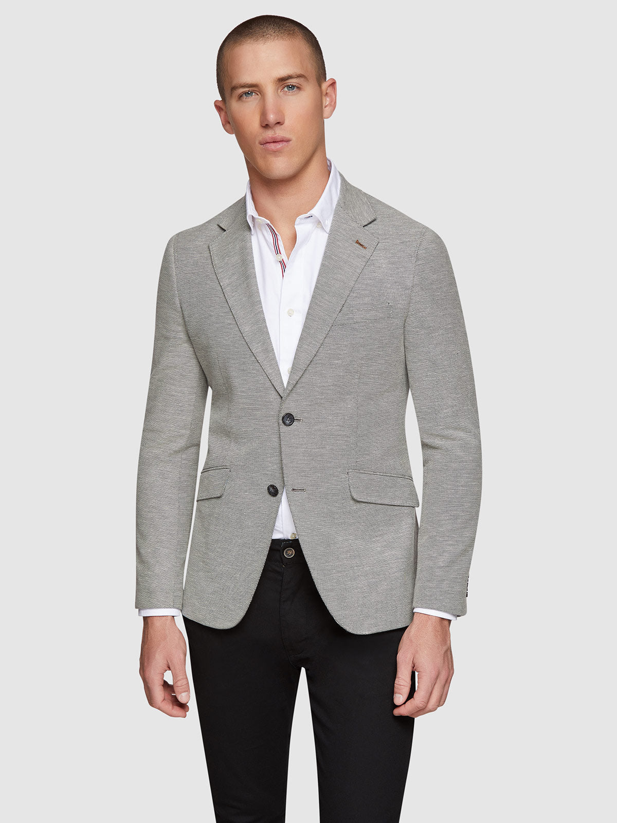 BLAKE COTTON STRETCH BLAZER