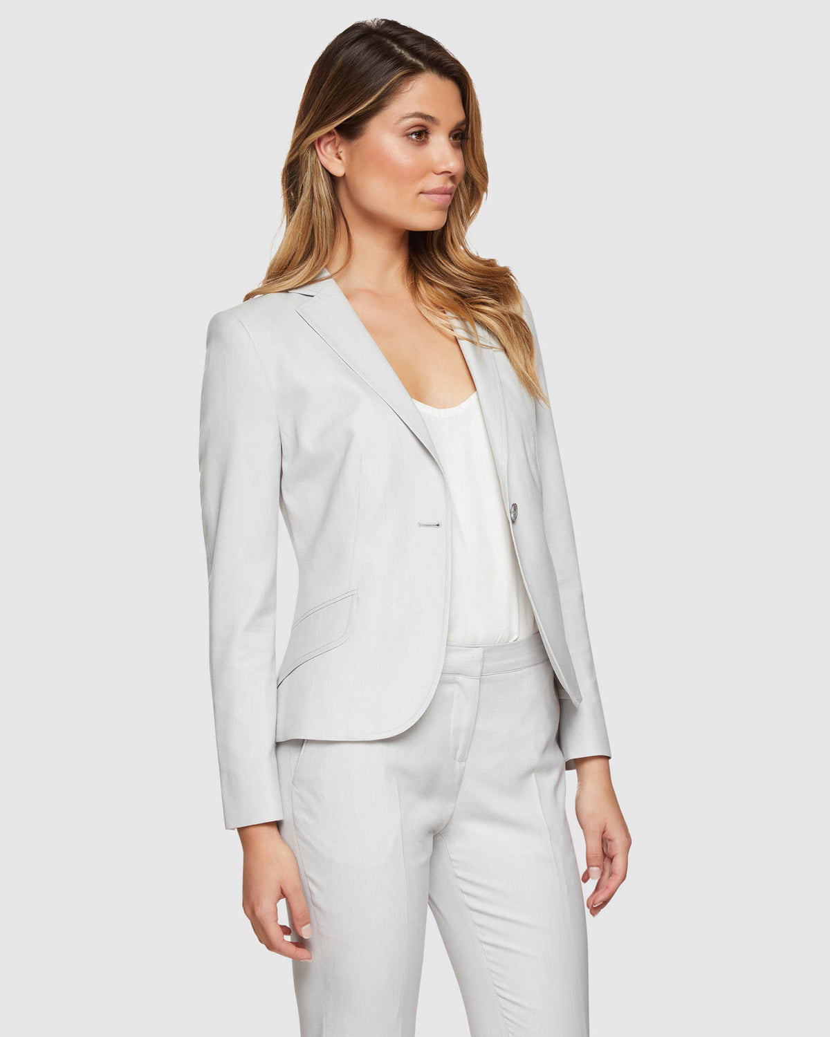 PIXIE STONE SUIT JACKET STONE