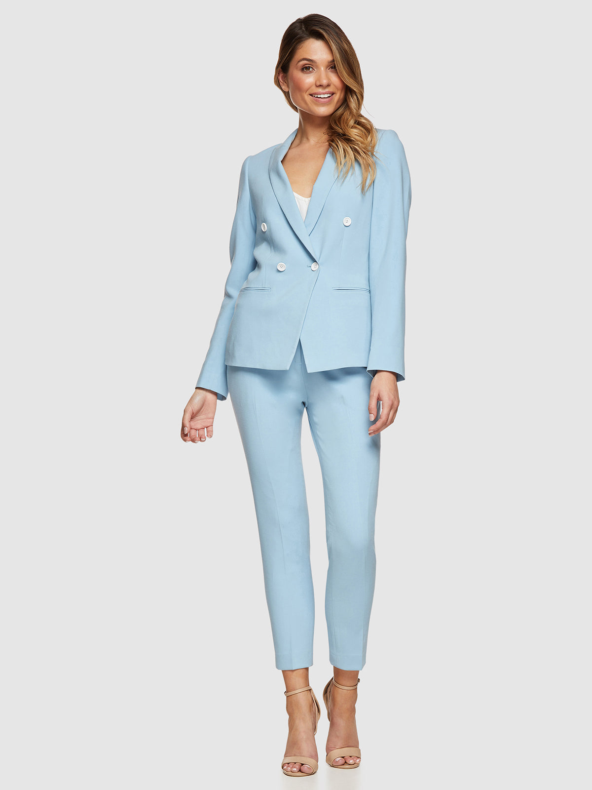 MIA SKY SUIT TROUSERS SKY BLUE