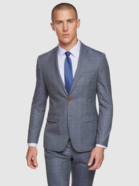 BYRON CHECKED LUXURY SUIT JACKET